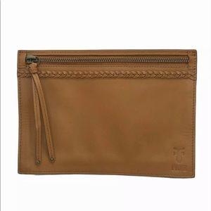 FRYE Leather Fanny Pack Zipper Pouch, NO Belt